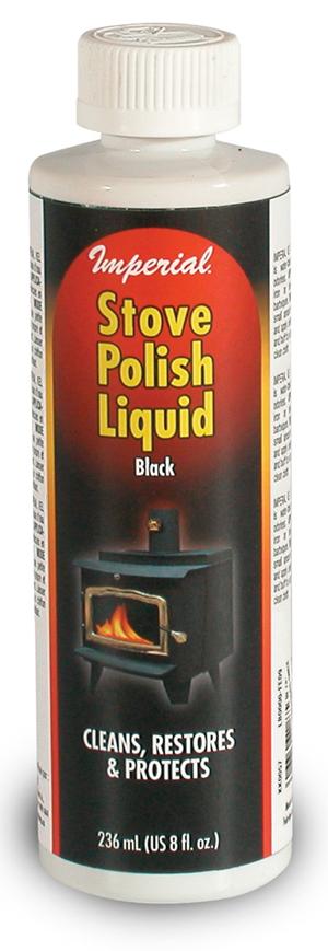 Stove Polish Liquid Black 8 Fl Oz In Ct Blakeslee Wood