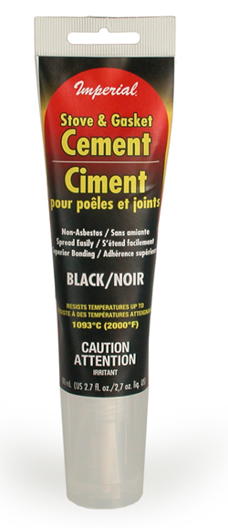 Stove Amp Gasket Cement Black 2 7 Fl Oz In Ct Blakeslee
